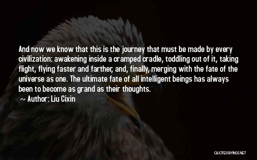 Taking Flight Quotes By Liu Cixin