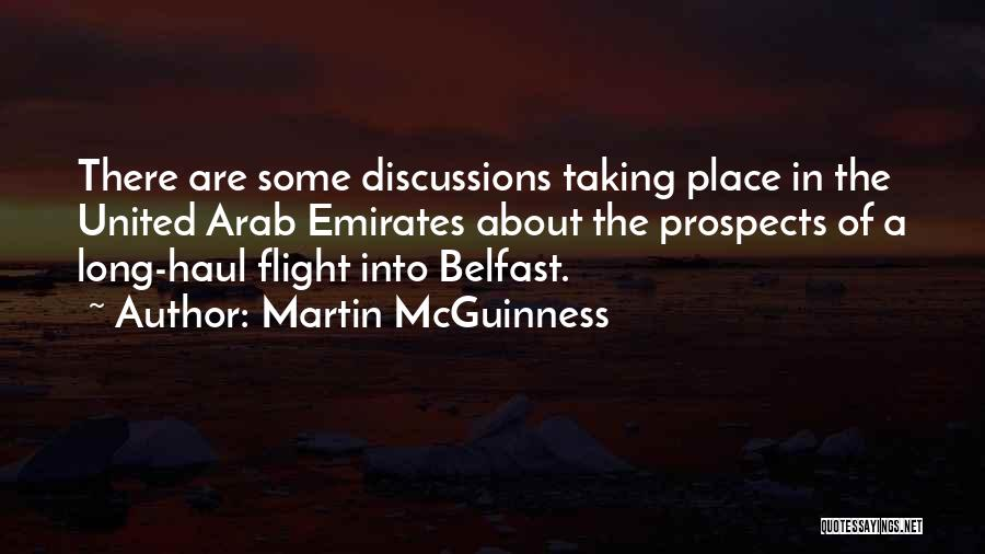 Taking Flight Quotes By Martin McGuinness