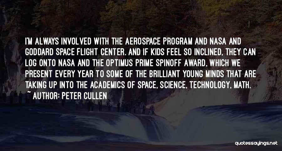 Taking Flight Quotes By Peter Cullen