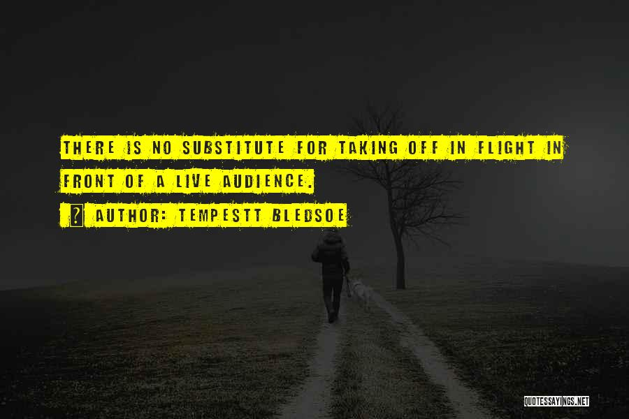 Taking Flight Quotes By Tempestt Bledsoe