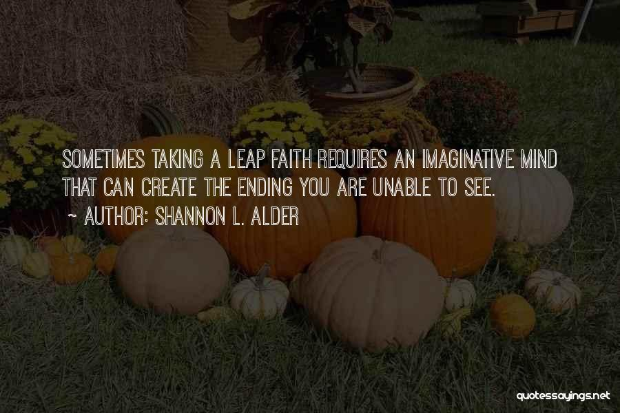 Top 16 Taking Leap Of Faith Quotes Sayings