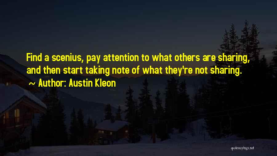Taking Note Quotes By Austin Kleon