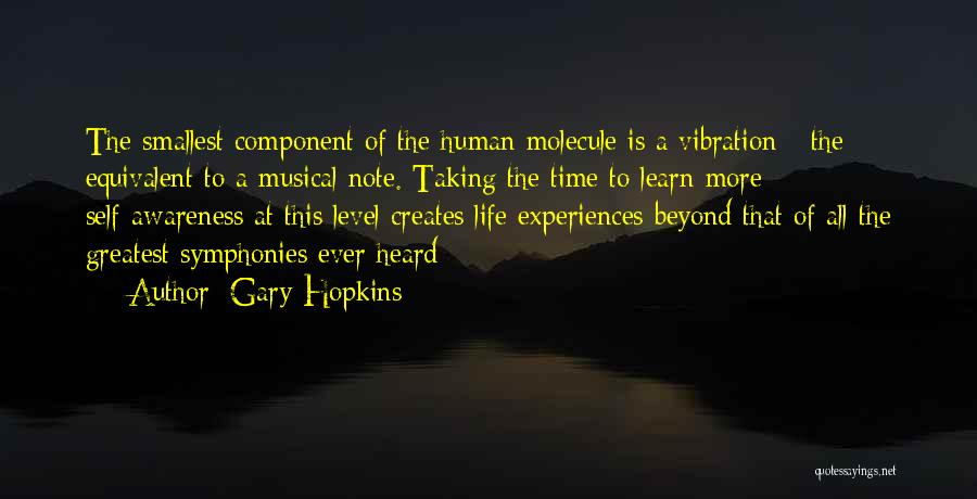 Taking Note Quotes By Gary Hopkins
