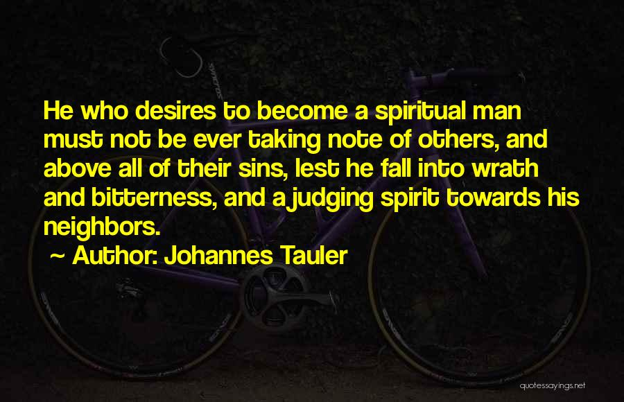 Taking Note Quotes By Johannes Tauler