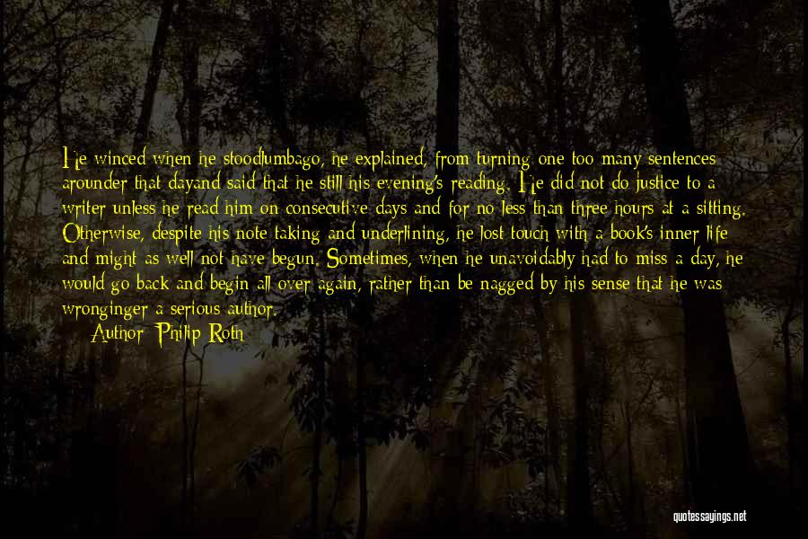 Taking Note Quotes By Philip Roth