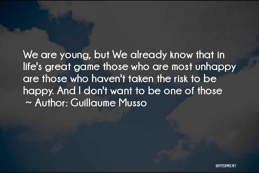 Taking One's Life Quotes By Guillaume Musso