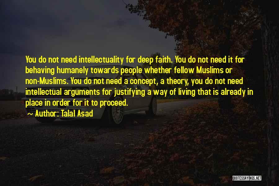 Talal Asad Quotes 1801856