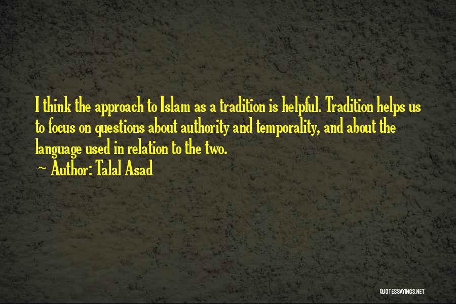 Talal Asad Quotes 199452