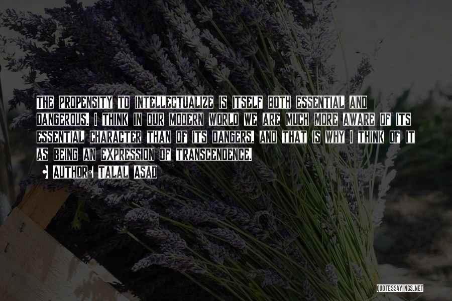Talal Asad Quotes 255177