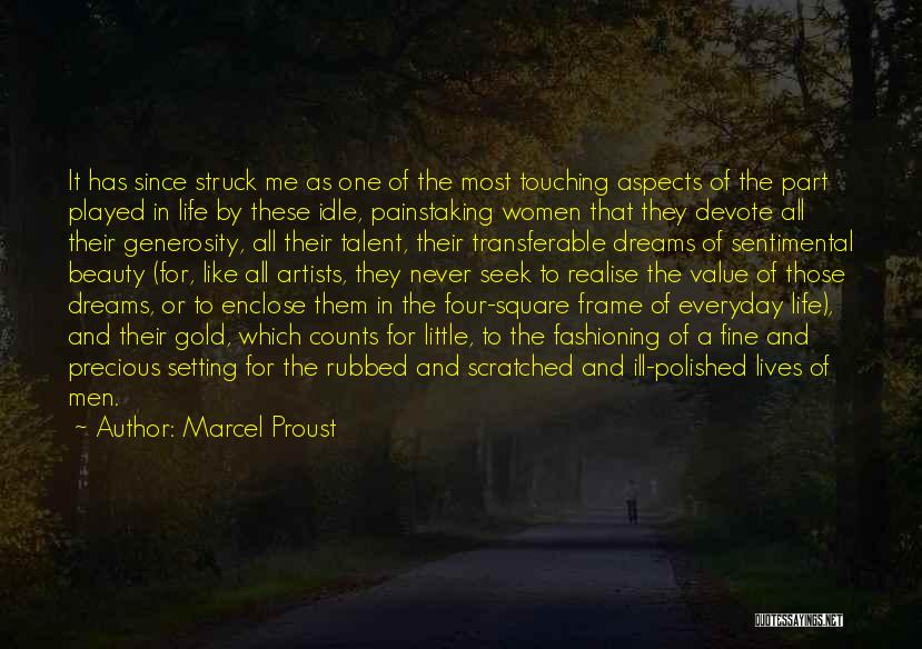 Talent And Beauty Quotes By Marcel Proust