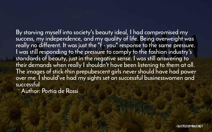 Talent And Beauty Quotes By Portia De Rossi