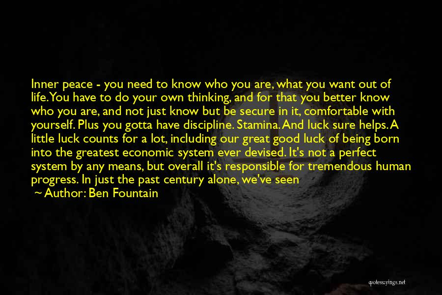Talent And Luck Quotes By Ben Fountain