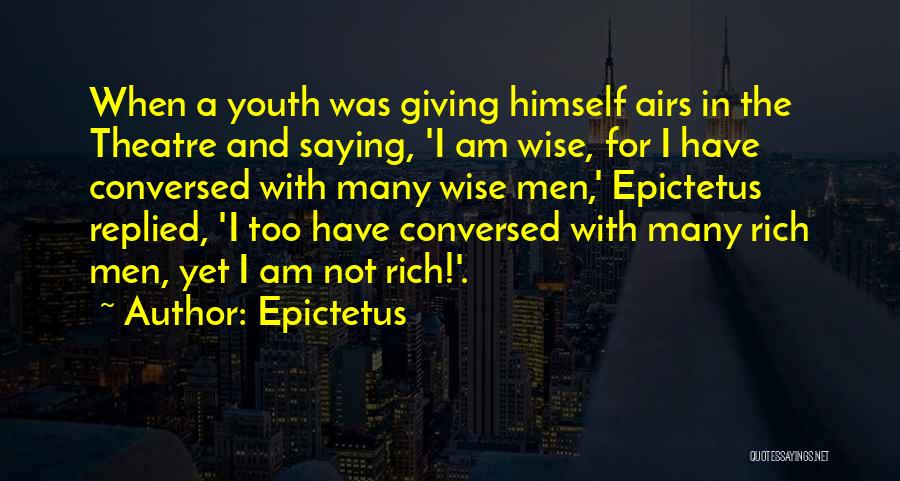 Talk Is Cheap Quotes By Epictetus