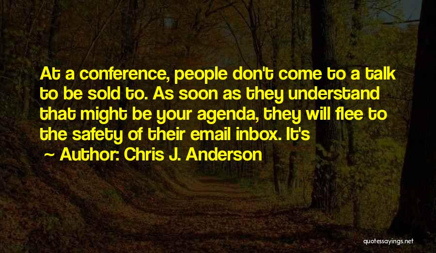 Talk Soon Quotes By Chris J. Anderson