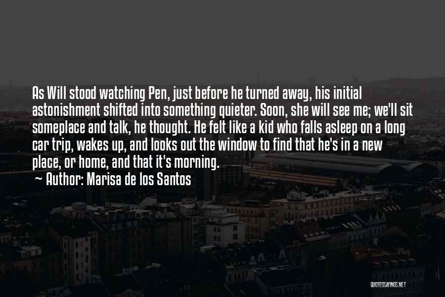 Talk Soon Quotes By Marisa De Los Santos