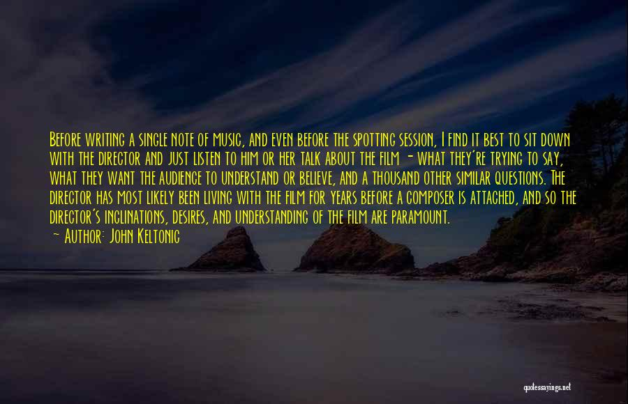 Talk To Her Film Quotes By John Keltonic