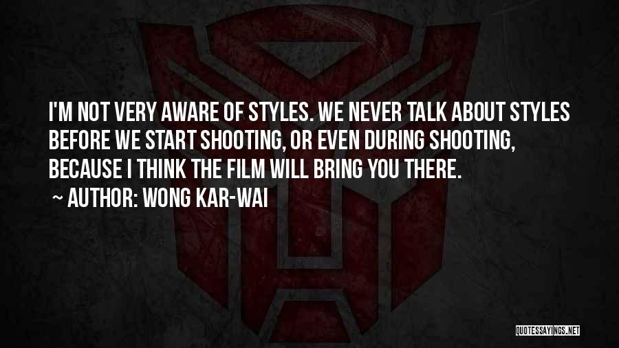 Talk To Her Film Quotes By Wong Kar-Wai