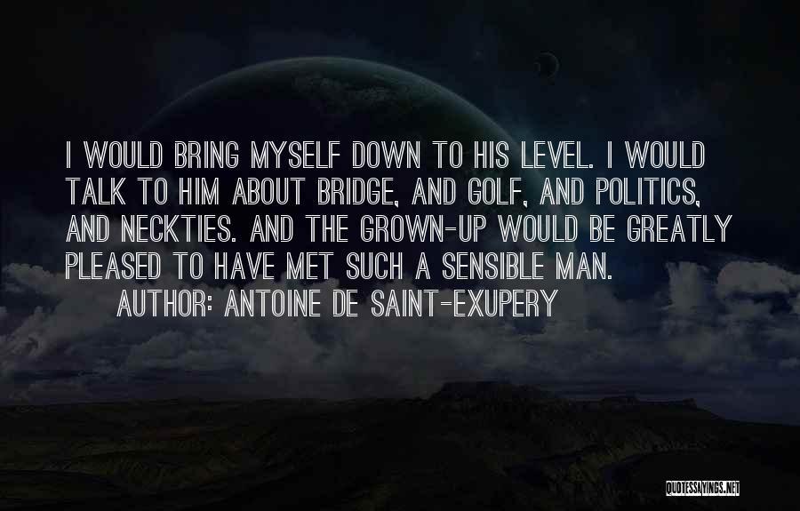 Talk To Myself Quotes By Antoine De Saint-Exupery