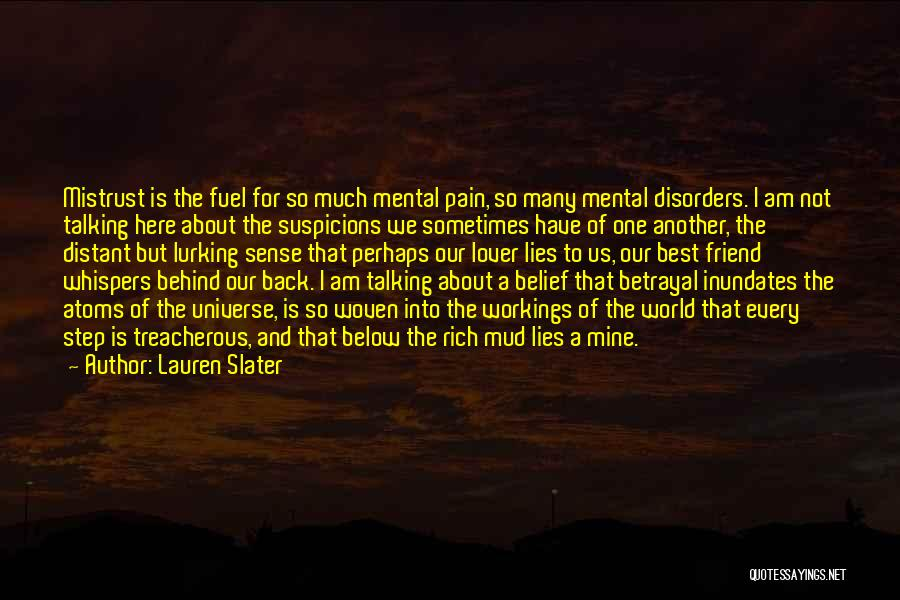 Talking About Behind Someone's Back Quotes By Lauren Slater