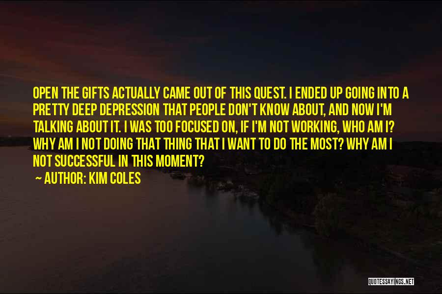 Talking And Doing Quotes By Kim Coles