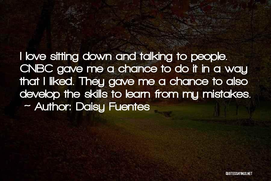 Talking Down To Others Quotes By Daisy Fuentes