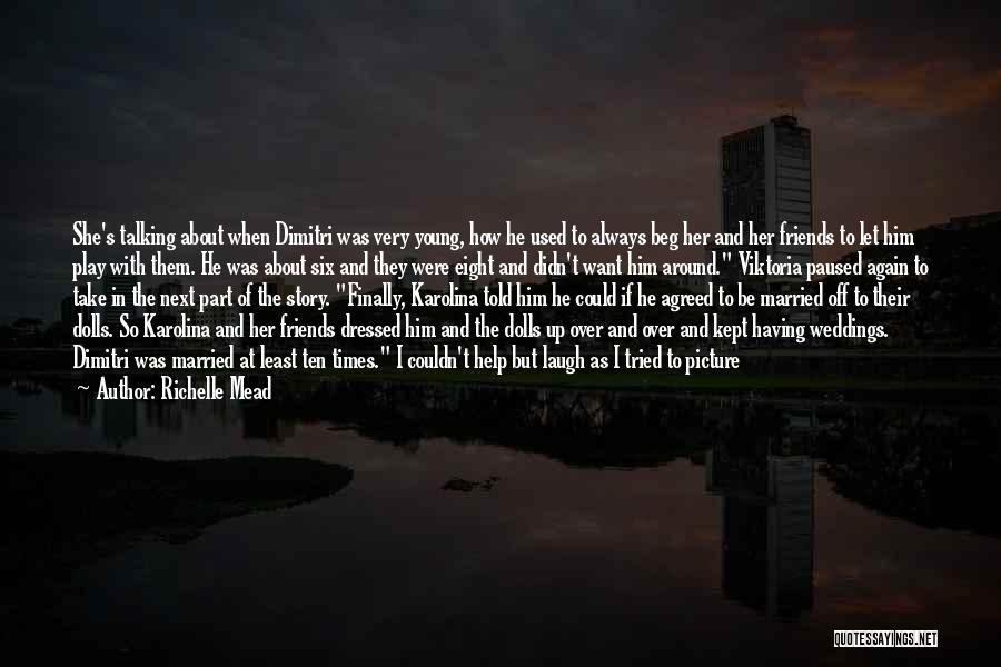Talking To You Picture Quotes By Richelle Mead