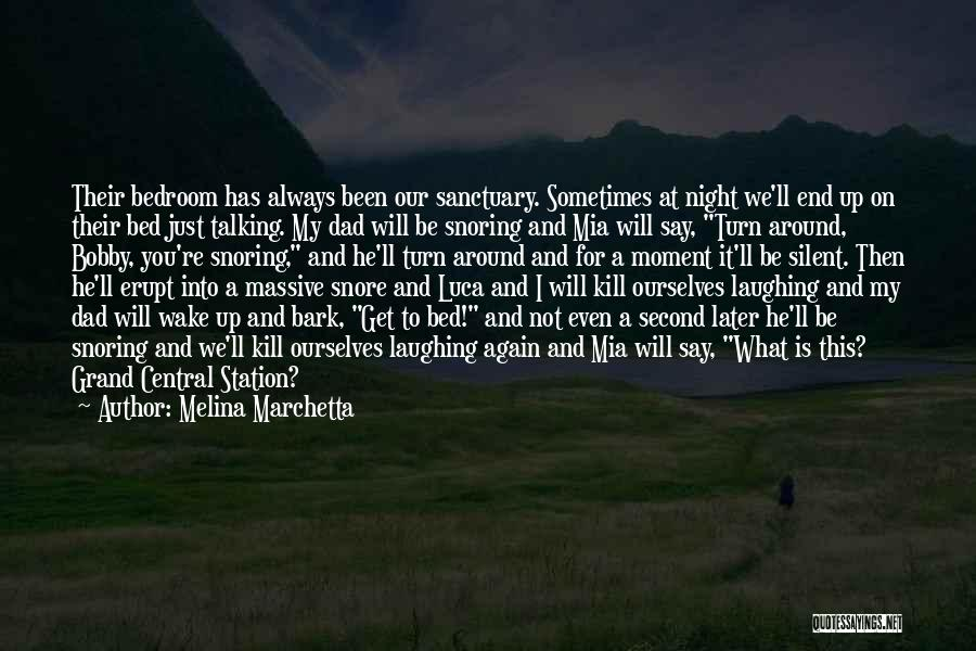 Talking To Your Ex Again Quotes By Melina Marchetta