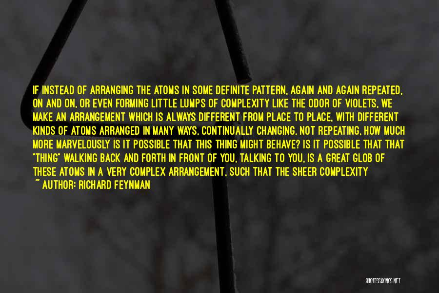 Talking To Your Ex Again Quotes By Richard Feynman