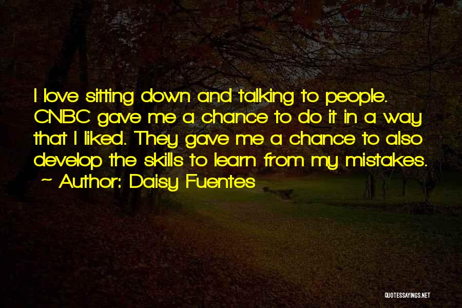 Talking To Your Ex Quotes By Daisy Fuentes