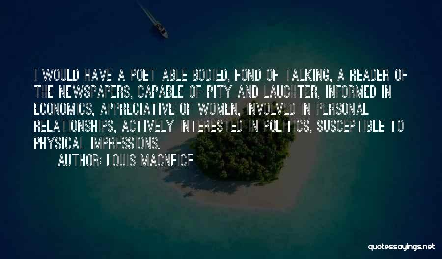 Talking To Your Ex Quotes By Louis MacNeice