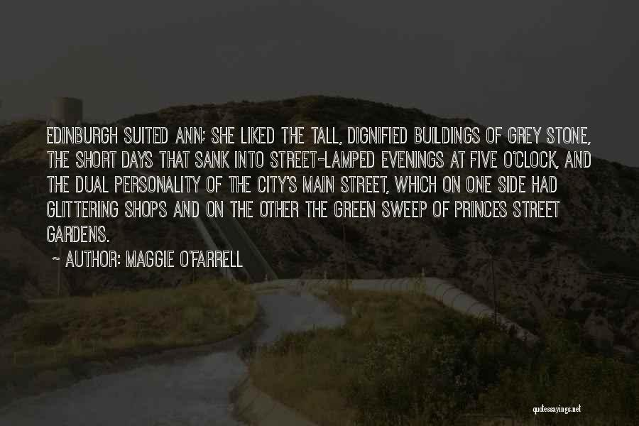 Tall Buildings Quotes By Maggie O'Farrell