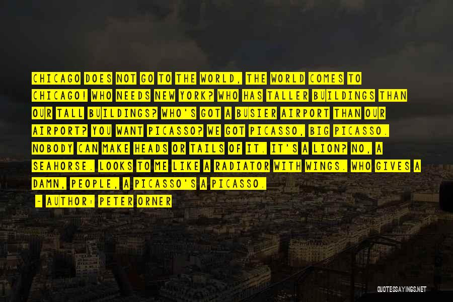 Tall Buildings Quotes By Peter Orner