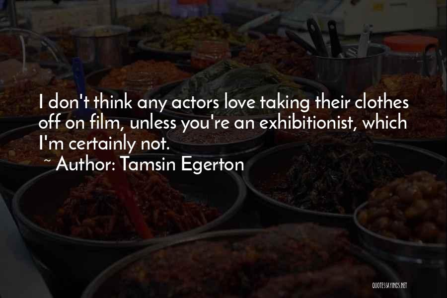 Tamsin Egerton Quotes 1005559