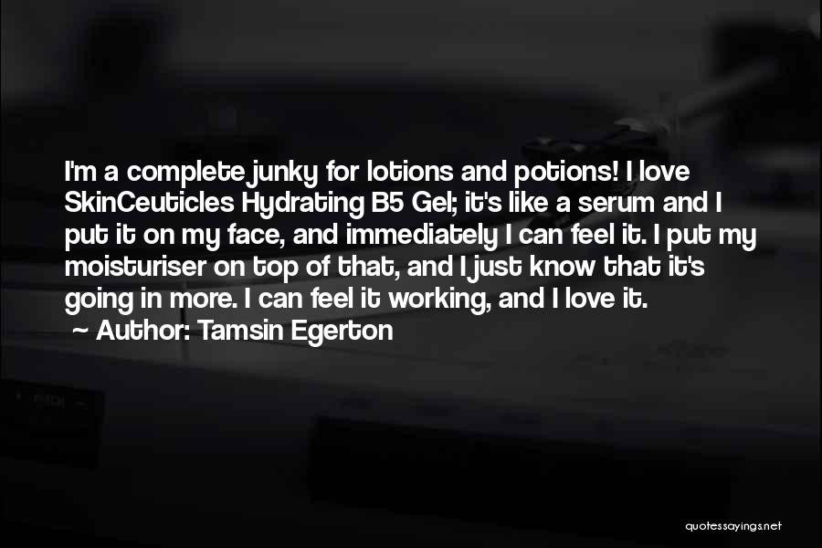 Tamsin Egerton Quotes 142751