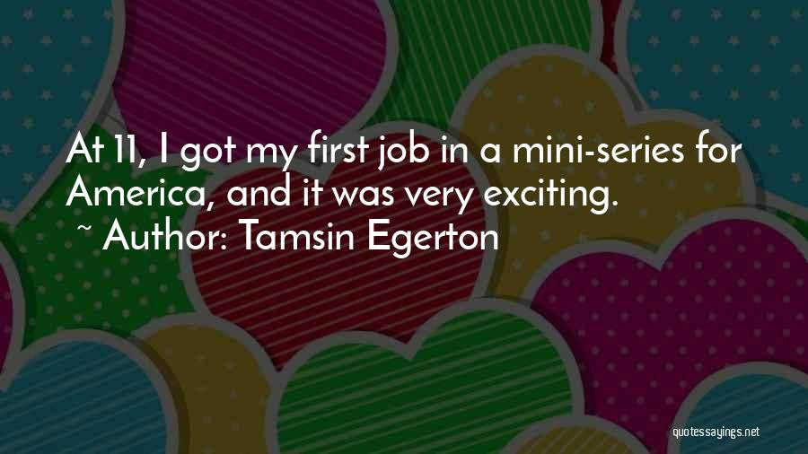 Tamsin Egerton Quotes 1526627