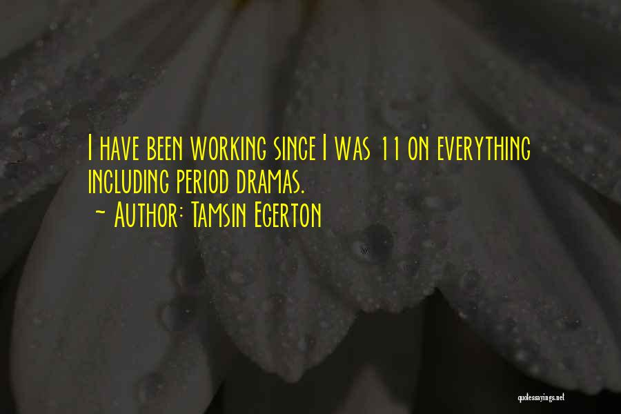 Tamsin Egerton Quotes 1849110