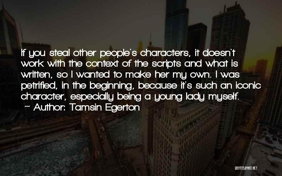 Tamsin Egerton Quotes 300419