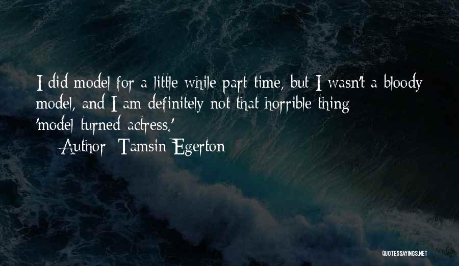 Tamsin Egerton Quotes 306853