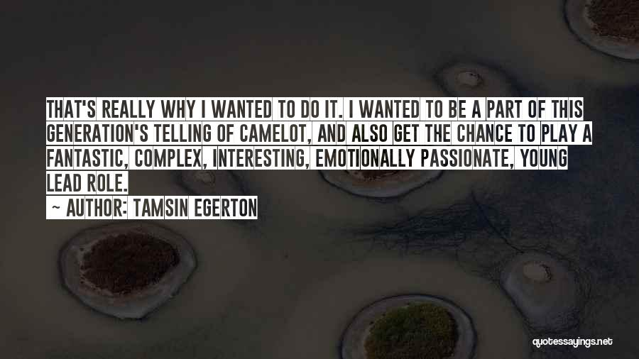 Tamsin Egerton Quotes 388731