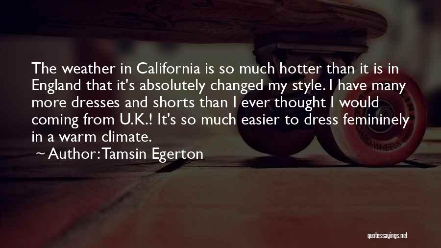 Tamsin Egerton Quotes 522581