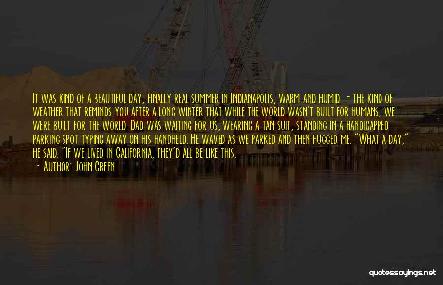 Tan Quotes By John Green