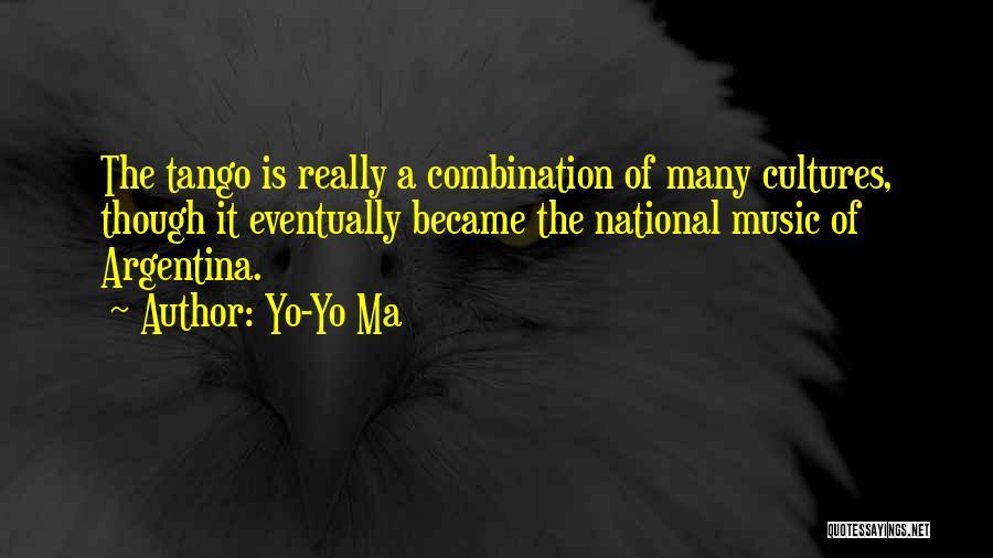 Tango Music Quotes By Yo-Yo Ma