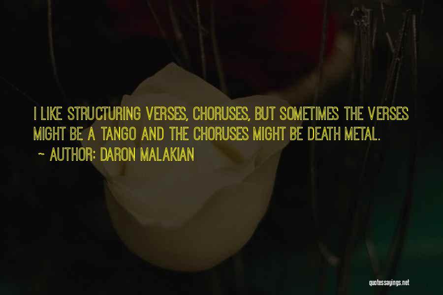 Tango Quotes By Daron Malakian