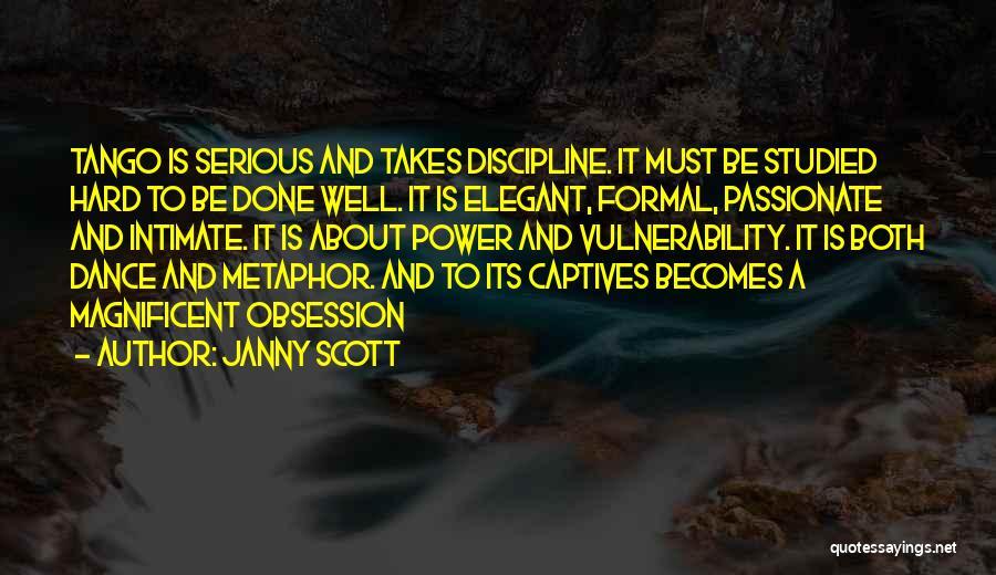 Tango Quotes By Janny Scott