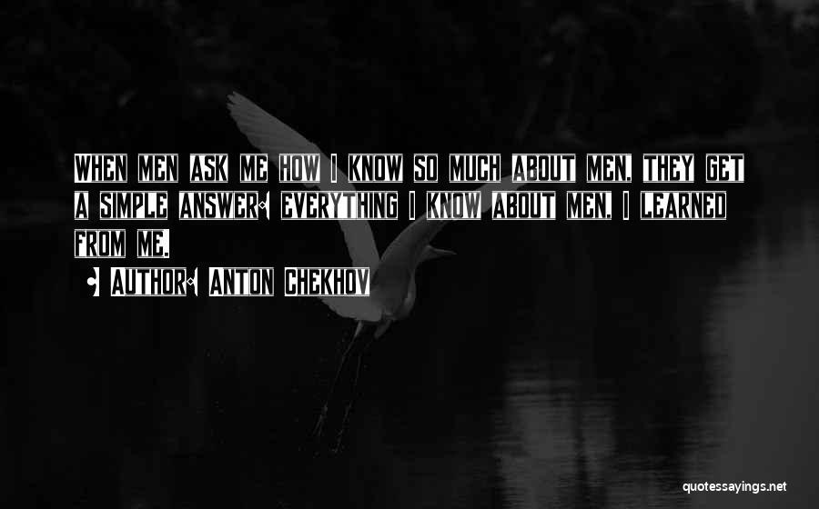 Tank Dempsey Quotes By Anton Chekhov