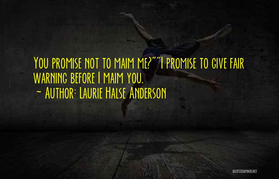 Tank Dempsey Quotes By Laurie Halse Anderson