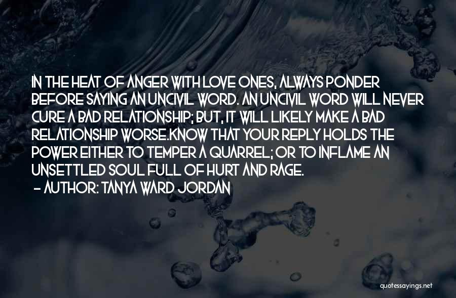 Tanya Ward Jordan Quotes 1827221