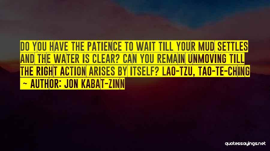 Tao Ching Quotes By Jon Kabat-Zinn