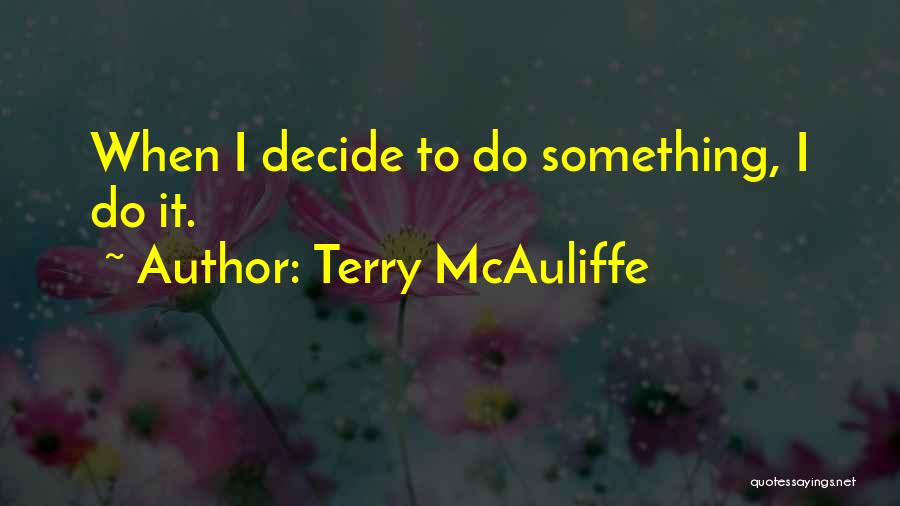 Tara Webster Love Quotes By Terry McAuliffe