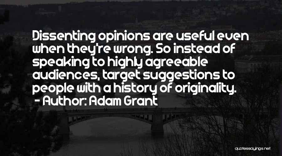 Target Quotes By Adam Grant